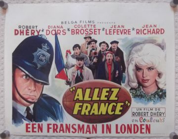 Counterfeit Constable, Original Belgium Movie Poster, Diana Dors, '64